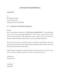 Organization Letter of Transmittal chaosko