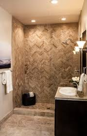 Bathroom Tile Floor Ideas For Small Bathrooms by Best 25 Travertine Shower Ideas Only On Pinterest Travertine
