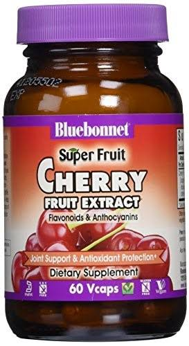 Bluebonnet Cherry Fruit Extract Supplement - 60 Capsules