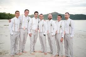 5 Eye Catching Beach Wedding Groomsmen Attire 6