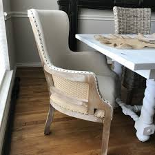 Deconstructed Chairs From Kirklands For Transitional Dining Room