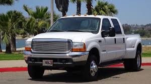 2000 FORD F350 DUALLY SHORT BED 7.3L DIESEL 4X4 4WD CREW CAB FOR ...