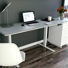 Monitor Stands For Desks Nz by Office Desk Office Standing Desk Dual Monitor Adjustable In