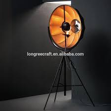 Photographers Tripod Floor Lamp by Modern Fabric Umbrella Covers Photography Minimalist Industrial