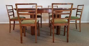 esszimmer set um 1930 esstisch 6 stühle antik tisch