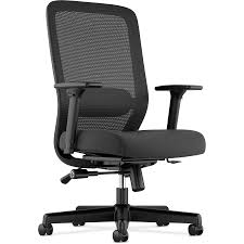 HON Exposure Mesh High-Back Task Chair - Fabric Black Seat - 5-star Base -  19