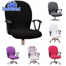 SN NewComputer Office Rotating Chair Cover Stretch Slipcover Seat Protector