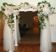 Indoor Wedding Ceremony Arch Ideas