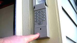 Garage Keypad Garage Door Code Pad Garage Door Code Pad Change