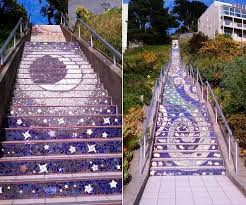 16th Avenue Tiled Steps Project by Beauty Will Save Viola Beauty In Everything