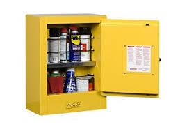 Flammable Liquid Storage Cabinet Requirements by Justrite 890200 Sure Grip Ex Galvanized Steel 1 Door Manual