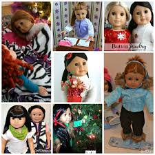 From The Vault Fun Christmas Crafts For Dolls Doll Diaries