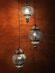 orientalische marokkanische silber leuchte hängelen