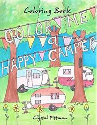 Color Me A Happy Camper Coloring Book