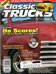 100 Classic Truck Parts S June 2001 Magazine EXCLUSIVE ALL NEW WALTON FAB