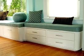 Modern Bench Seat Design Storage With Back Window