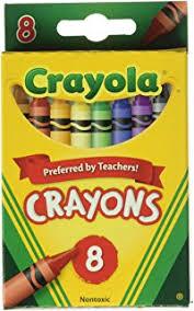 Bulk Buy Crayola Crayons 8 Pkg 52 3008 12 Pack