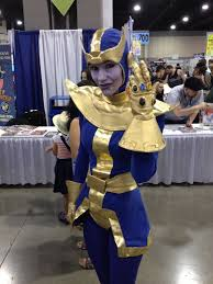 Comicbookcollecting U201c Rule 63 Female Thanos Cosplay By Caitlin