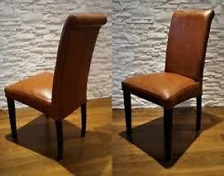 details zu glanz 100 echtleder stühle esszimmer leder stuhl lederstühle viele farben