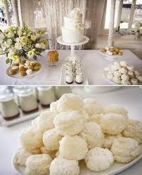 Simple Art Deco Wedding Dessert Table Cookies Cute Cake And Lemon Treats Gonzalez Hill