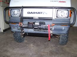 Winch Bumper | Japanese Mini Truck Forum