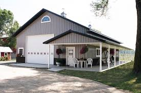 Barns And Buildings Quality Horse Pole Barn House Plans Gambrel