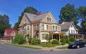 100 Saratoga Houses East Side Historic District Springs New York
