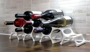 GustaVino 3D printed modular wine rack on Kickstarter