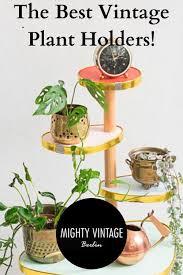 vintage plant stands blumentisch pflanzenständer