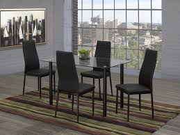 Sienna 5-Piece Kitchen Set, Black | Walmart Canada Venice Table With 4 Chairs By Fniture Hom Tommy Bahama Kingstown 5pc Sienna Bistro Ding Set Sale Ends 3piece Occasional Bernards Fniturepick Lexington Home Brands Mercury Row End Reviews Wayfair Grand Masterpiece Royal Extendable Pedestal Room Penlands Ambrosia Terrasienna Round 48 Inch Gathering With Terra Flared Specialt Affordable Tables For Office Industry Outdoor Living Spaces Counter Colors Generations Furnishings