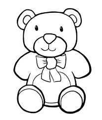 Teddy Bear Coloring Pages For Adults Colouring Printable Sheets Christmas Free Full Size
