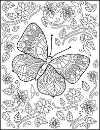 Butterflies Coloring Book For Adults By Amanda Neel