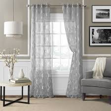 Sheer Curtain Panels With Grommets by Found It At Wayfair Ca Sonata Sheer Curtain Panel Decor Ideas