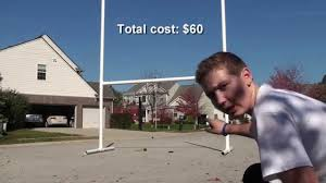 How To Make A Football Goal Post At Home - YouTube 2017 Nfl Rulebook Football Operations Design A Soccer Field Take Closer Look At The With This Diagram 25 Unique Field Ideas On Pinterest Haha Sport Football End Zone Wikipedia Man Builds Minifootball Stadium In Grandsons Front Yard So They How To Make Table Runner Markings Fonts In Use Tulsa Turf Cool Play Installation Youtube 12 Best Make Right Call Images Delicious Food Selfguided Tour Attstadium Diy Table Cover College Tailgate Party