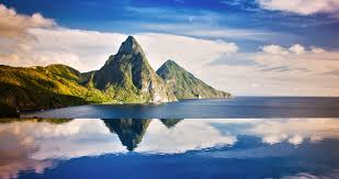 100 J Mountain St Lucia The Most Beautiful Beaches In