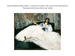 charles baudelaire the painter of modern 1863 ppt