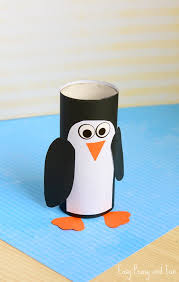 Fun Winter Crafts For Preschoolers Paper Roll Penguin Craft Kids Cr On Make