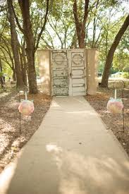 Vintage Doors Ceremony Backdrop