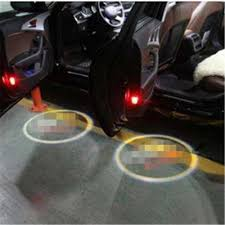 4Case For Rover Case For Lifan Car Logo LED Interior Lights Welcome ...