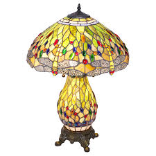 Tiffany Style Lamp Shades by Green Dragonfly Tiffany Style Night Light Table Lamp Shade