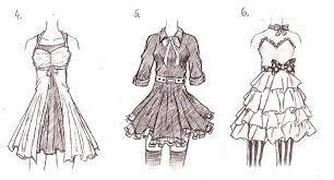 Anime Clothes Designs