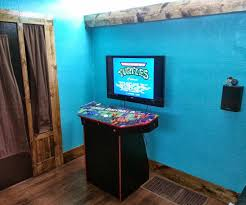 4 player pedestal arcade cabinet for mame arcade video games