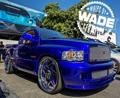 Forgiato Weekend 2016 : Candy Blue Ram Srt10 On 26