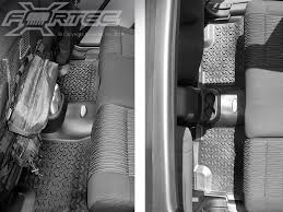 Rugged Ridge Floor Liners by Interior Rugged Ridge Om 12950 01ft Fortec Rear Floor Liner