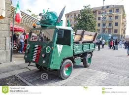 Funny Truck Created For Military National Meeting, Italy Editorial ...