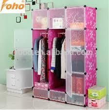 capacity assemble plastic portable wardrobe closet storage
