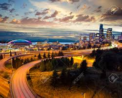 100 Beautiful Seattle Pictures Nightview Of Stock Photo Picture And Royalty Free