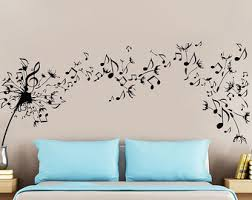 Wall Mural Decals Nature by Musical Wall Decal Etsy