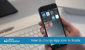 How to change app icon Apps Foundation
