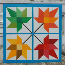 Maple Leaves. Maple Leaves Barn Quilts. Barn Quilt. Summer And ... Barn Quilt Unveiling Views News Osceolaquttrails Blog Just Another Wordpresscom Site Page 6 Prairie Patchworks Coos County Trail Quilts And The American 2012 Index Of Wpcoentuploads201508 O Christmas Tree Block Set Tweetle Dee Design Co Visit Southeast Nebraska Lemoyne With Swallows On Photograph By Haing Barn Quilt Camp Gramma Panes Art Hand Painted Windows Window